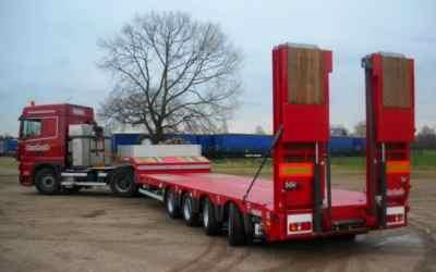 Перевозка негабаритных грузов низкорамными полуприцепами по РФ - Сургут, заказать или взять в аренду