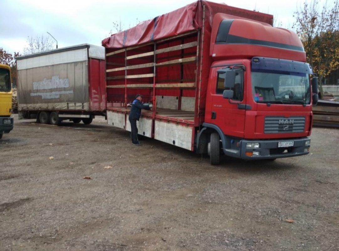 Аренда грузовика MAN с прицепом - Сургут, заказать или взять в аренду