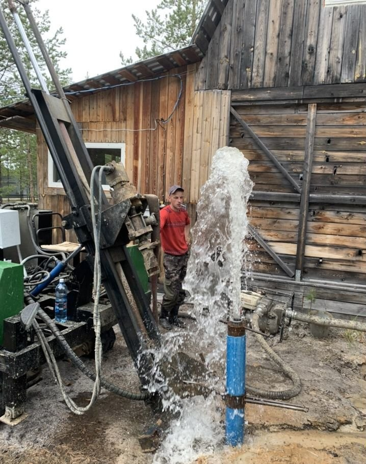 Бурим скважины на воду бурение на воду скважина ц - Лангепас, цены, предложения специалистов